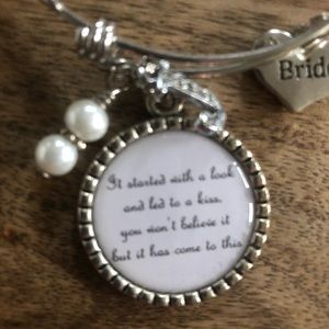 Jewelry - Charm bracelet for bride